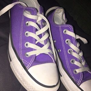 Purple Converse All-Stars